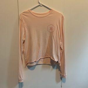 Hurley Tops - Light Pink Hurley Crop Top